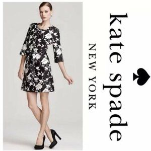 Kate Spade graphic floral lace dress
